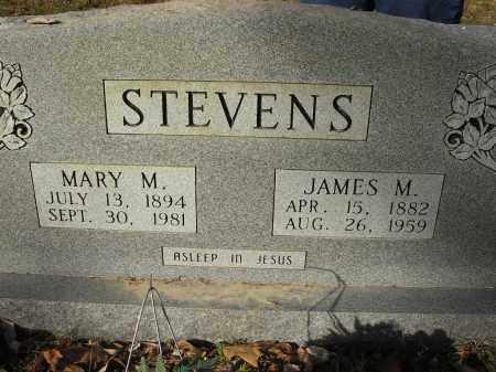 STEVENS, JAMES M - Stone County, Arkansas | JAMES M STEVENS - Arkansas Gravestone Photos