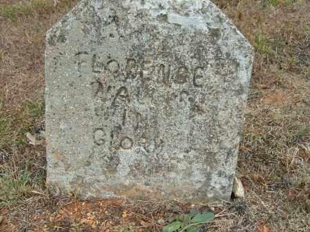 WALLIS, FLORENCE - Stone County, Arkansas | FLORENCE WALLIS - Arkansas Gravestone Photos