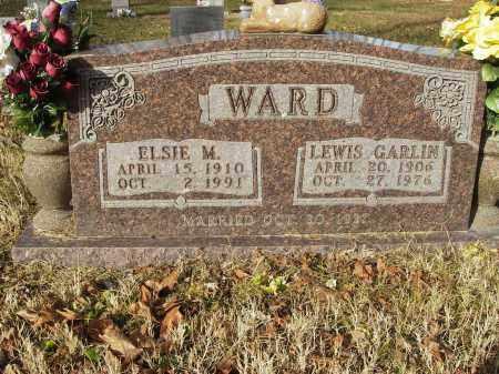 WARD, ELSIE M - Stone County, Arkansas | ELSIE M WARD - Arkansas Gravestone Photos