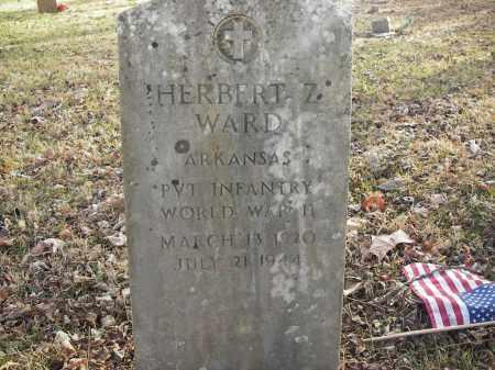 WARD (VETERAN WWII), HERBERT Z - Stone County, Arkansas   HERBERT Z WARD (VETERAN WWII) - Arkansas Gravestone Photos