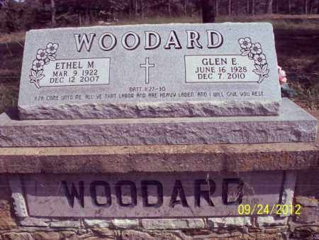 WOODARD, ETHEL M. - Stone County, Arkansas | ETHEL M. WOODARD - Arkansas Gravestone Photos