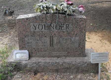 YOUNGER, COLA - Stone County, Arkansas   COLA YOUNGER - Arkansas Gravestone Photos