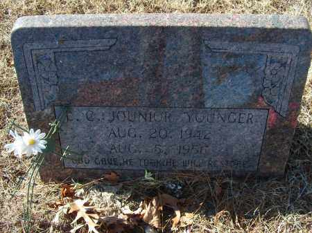 YOUNGER, L.C. JUNIOR - Stone County, Arkansas | L.C. JUNIOR YOUNGER - Arkansas Gravestone Photos