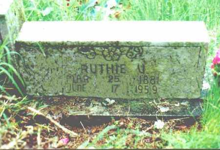 YOUNGER, RUTHA VIOLA - Stone County, Arkansas | RUTHA VIOLA YOUNGER - Arkansas Gravestone Photos
