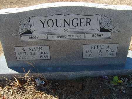 YOUNGER, EFFIE A. - Stone County, Arkansas | EFFIE A. YOUNGER - Arkansas Gravestone Photos