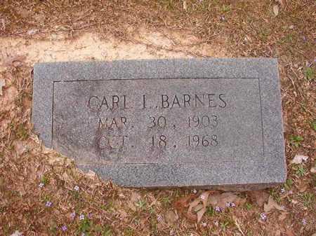 BARNES, CARL L - Union County, Arkansas   CARL L BARNES - Arkansas Gravestone Photos