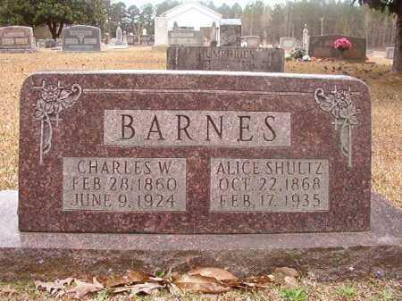 BARNES, CHARLES W - Union County, Arkansas | CHARLES W BARNES - Arkansas Gravestone Photos