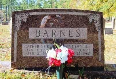 "KELLY BARNES, CATHERINE ""CATTIE"" - Union County, Arkansas   CATHERINE ""CATTIE"" KELLY BARNES - Arkansas Gravestone Photos"