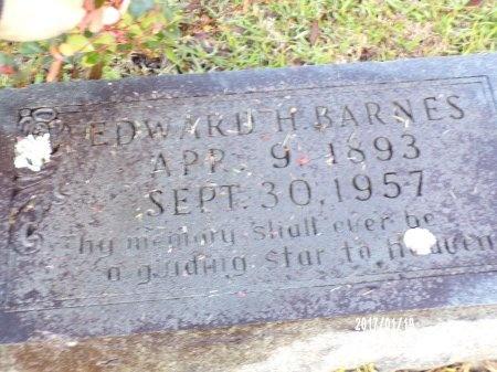 BARNES, EDWARD H - Union County, Arkansas   EDWARD H BARNES - Arkansas Gravestone Photos