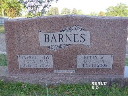 BARNES, EVERETT ROY - Union County, Arkansas | EVERETT ROY BARNES - Arkansas Gravestone Photos