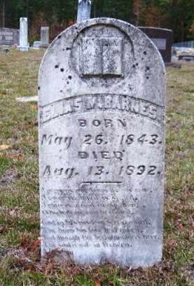 BARNES, ELIAS N - Union County, Arkansas   ELIAS N BARNES - Arkansas Gravestone Photos