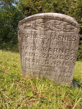 BARNES, FRANCES - Union County, Arkansas | FRANCES BARNES - Arkansas Gravestone Photos