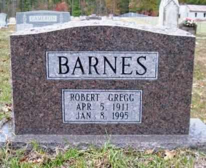BARNES, ROBERT GREGG - Union County, Arkansas   ROBERT GREGG BARNES - Arkansas Gravestone Photos