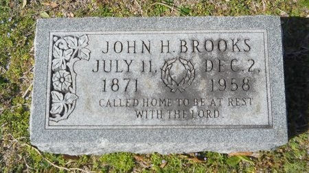 BROOKS, JOHN HIRAM - Union County, Arkansas | JOHN HIRAM BROOKS - Arkansas Gravestone Photos