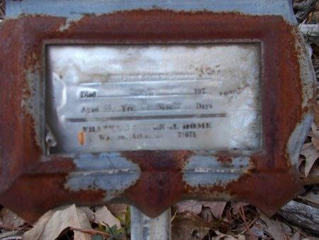 BROOKS, JOSEPHINE - Union County, Arkansas   JOSEPHINE BROOKS - Arkansas Gravestone Photos