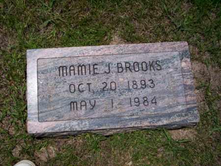 BROOKS, MAMIE J - Union County, Arkansas   MAMIE J BROOKS - Arkansas Gravestone Photos