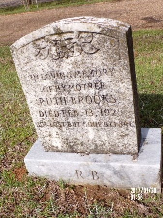BROOKS, RUTH - Union County, Arkansas | RUTH BROOKS - Arkansas Gravestone Photos