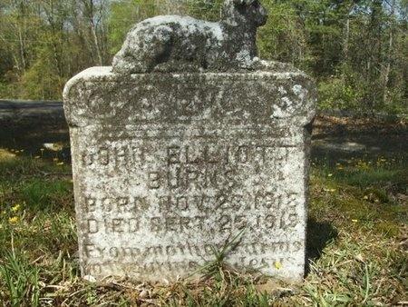 BURNS, JOHN ELLIOTT - Union County, Arkansas | JOHN ELLIOTT BURNS - Arkansas Gravestone Photos