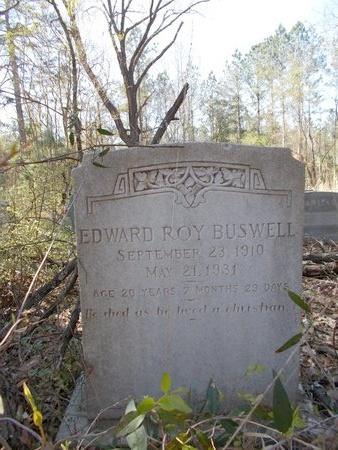 BUSWELL, EDWARD ROY - Union County, Arkansas   EDWARD ROY BUSWELL - Arkansas Gravestone Photos