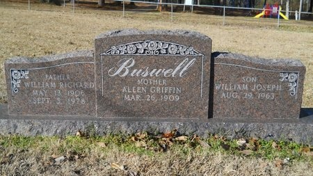 BUSWELL, WILLIAM RICHARD - Union County, Arkansas | WILLIAM RICHARD BUSWELL - Arkansas Gravestone Photos