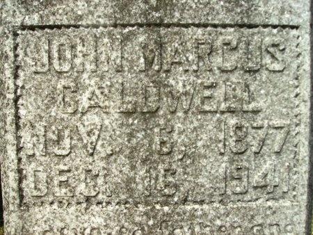 CALDWELL, JOHN MARCUS - Union County, Arkansas | JOHN MARCUS CALDWELL - Arkansas Gravestone Photos