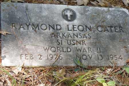 CATER (VETERAN WWII), RAYMOND LEON - Union County, Arkansas | RAYMOND LEON CATER (VETERAN WWII) - Arkansas Gravestone Photos