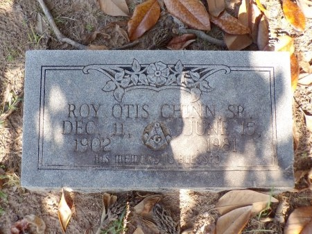 CHINN, SR, ROY OTIS - Union County, Arkansas | ROY OTIS CHINN, SR - Arkansas Gravestone Photos