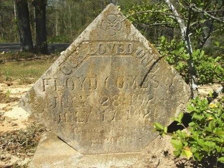 COMBS, FLOYD - Union County, Arkansas   FLOYD COMBS - Arkansas Gravestone Photos