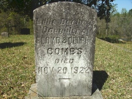 COMBS, INFANT DAUGHTER - Union County, Arkansas | INFANT DAUGHTER COMBS - Arkansas Gravestone Photos