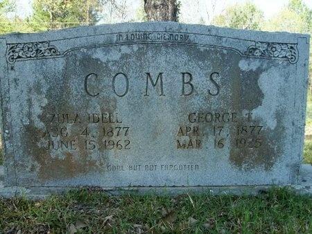 GOODWIN COMBS, ZULA IDELL - Union County, Arkansas | ZULA IDELL GOODWIN COMBS - Arkansas Gravestone Photos