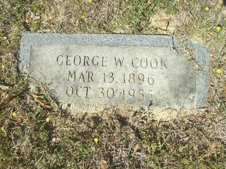 COOK, GEORGE WASHINGTON - Union County, Arkansas | GEORGE WASHINGTON COOK - Arkansas Gravestone Photos