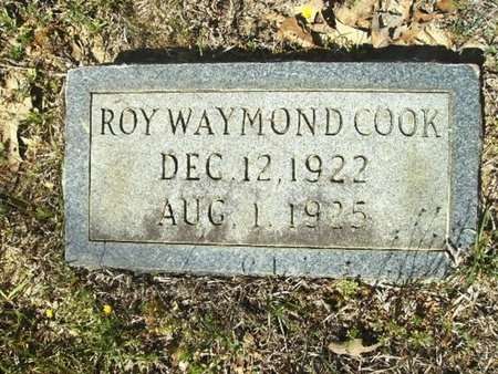 COOK, ROY WAYMOND - Union County, Arkansas | ROY WAYMOND COOK - Arkansas Gravestone Photos
