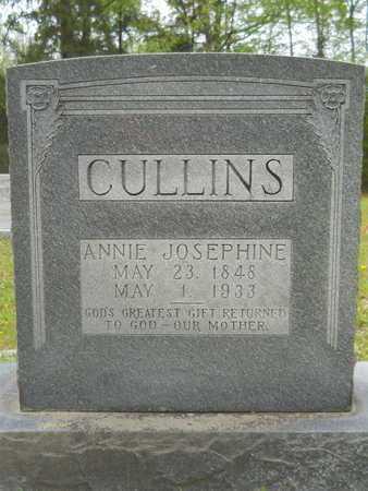 CULLINS, ANNIE JOSEPHINE - Union County, Arkansas   ANNIE JOSEPHINE CULLINS - Arkansas Gravestone Photos