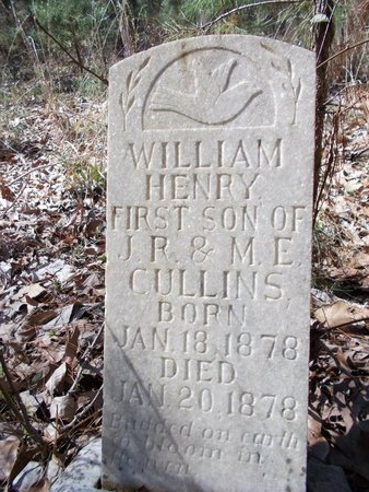 CULLINS, WILLIAM HENRY - Union County, Arkansas | WILLIAM HENRY CULLINS - Arkansas Gravestone Photos