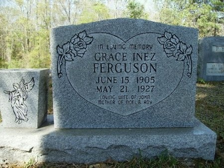 PYLE FERGUSON, GRACE INEZ - Union County, Arkansas | GRACE INEZ PYLE FERGUSON - Arkansas Gravestone Photos
