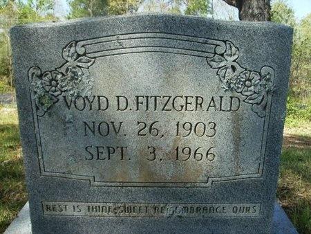 FITZGERALD, VOYD D - Union County, Arkansas | VOYD D FITZGERALD - Arkansas Gravestone Photos