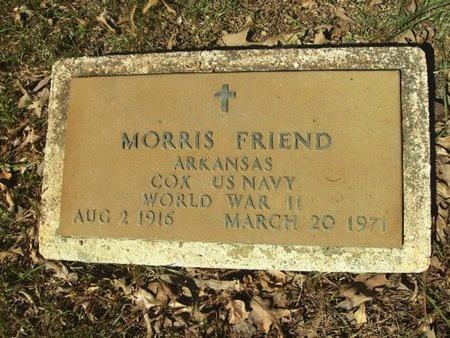 FRIEND (VETERAN WWII), MORRIS - Union County, Arkansas | MORRIS FRIEND (VETERAN WWII) - Arkansas Gravestone Photos