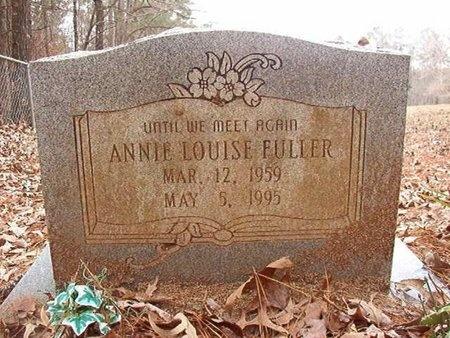 FULLER, ANNIE LOUISE - Union County, Arkansas | ANNIE LOUISE FULLER - Arkansas Gravestone Photos