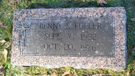 FULLER, BENNY R - Union County, Arkansas   BENNY R FULLER - Arkansas Gravestone Photos