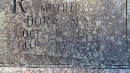 FULLER, DORA MAE (CLOSEUP) - Union County, Arkansas   DORA MAE (CLOSEUP) FULLER - Arkansas Gravestone Photos