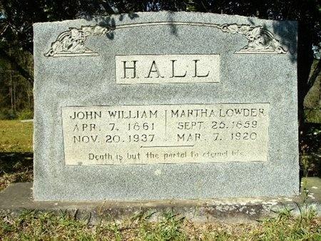 HALL, MARTHA - Union County, Arkansas | MARTHA HALL - Arkansas Gravestone Photos