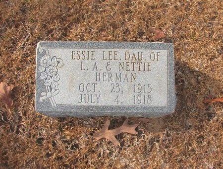 HERMAN, ESSIE LEE - Union County, Arkansas | ESSIE LEE HERMAN - Arkansas Gravestone Photos