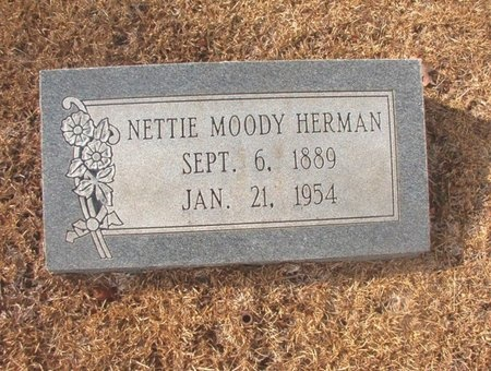 HERMAN, NETTIE - Union County, Arkansas | NETTIE HERMAN - Arkansas Gravestone Photos