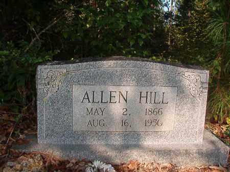 HILL, ALLEN - Union County, Arkansas | ALLEN HILL - Arkansas Gravestone Photos