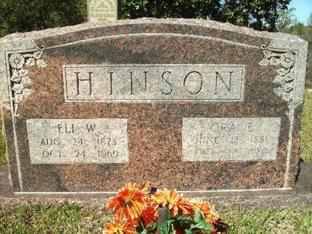 HINSON, ELI WESLEY - Union County, Arkansas | ELI WESLEY HINSON - Arkansas Gravestone Photos