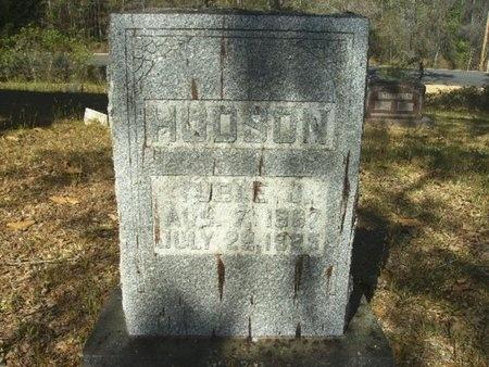 HUDSON, TUBLE JEFFERSON - Union County, Arkansas | TUBLE JEFFERSON HUDSON - Arkansas Gravestone Photos