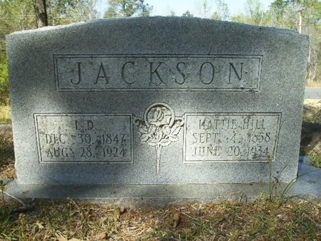 "HILL JACKSON, HARRIET ""HATTIE"" - Union County, Arkansas 