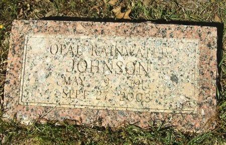 RAINWATER JOHNSON, OPAL - Union County, Arkansas | OPAL RAINWATER JOHNSON - Arkansas Gravestone Photos