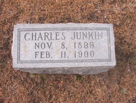 JUNKIN, CHARLES - Union County, Arkansas | CHARLES JUNKIN - Arkansas Gravestone Photos