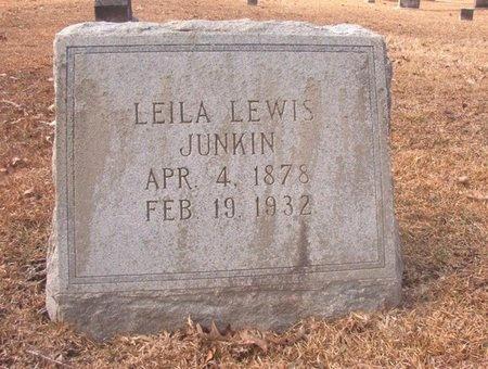 JUNKIN, LEILA - Union County, Arkansas | LEILA JUNKIN - Arkansas Gravestone Photos